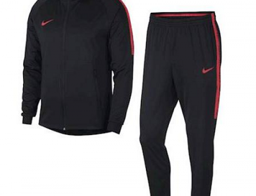 Trening negru cu guler ridicat pentru bărbați Nike Dry-FIT 924740-011