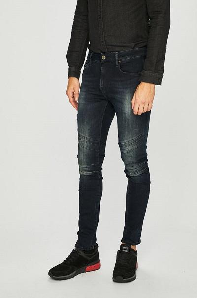 san francisco o selecție uriașă de design nou Blugi bărbaţi Guess Jeans Jay elastici, Skinny şi cu talie normală ...