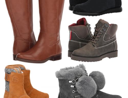 Ghete și cizme damă de iarnă de la 49,90 Lei rezistente la vânt și zăpadă