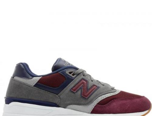 Pantofi sport bărbați New Balance ML597BGN din piele întoarsă
