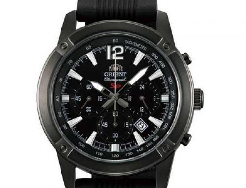 Ceas bărbătesc Orient FTW01002B0 Chronograf, 5 ATM, Quartz Sporty