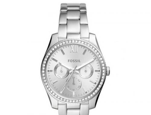 Ceas de damă Fossil Scarlette ES4314, 5 ATM, Quartz, Analog