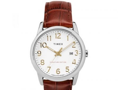 Ceas bărbătesc Timex Scovill TW2R65000, 3 ATM, Quartz, brățară din piele