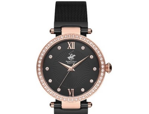 Ceas de damă Beverly Hills Polo Club BBH2110-05, 3 ATM, Quartz