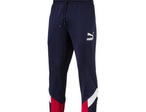 Pantaloni de trening Puma MCS 576772 06 pentru bărbați, albaștri