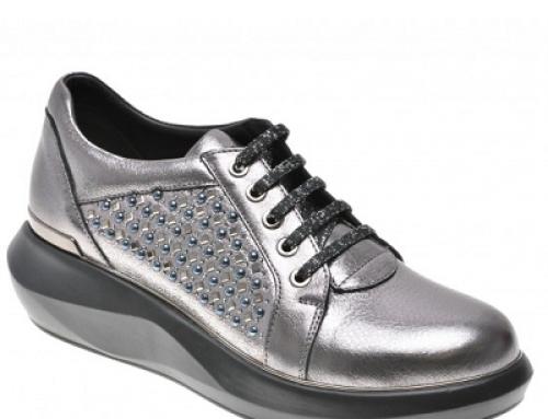 Pantofi damă Flavia Passini Lyric din piele naturală cu aplicații decorative