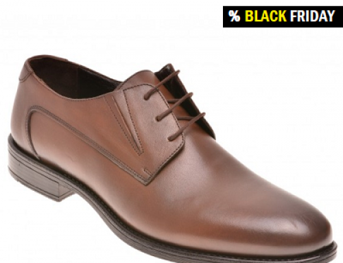Pantofi OTTER Howard eleganți pentru bărbați, din piele naturală, maro