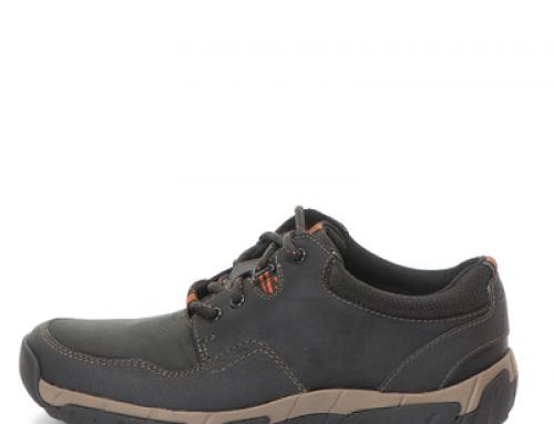 Pantofi bărbaţi Clarks WalbeckEdge II din piele naturală, casual, impermeabili