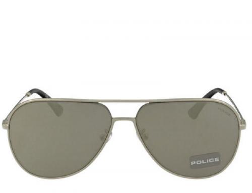 Ochelari de soare bărbați Police SPL359-589X polarizați, lentile gri