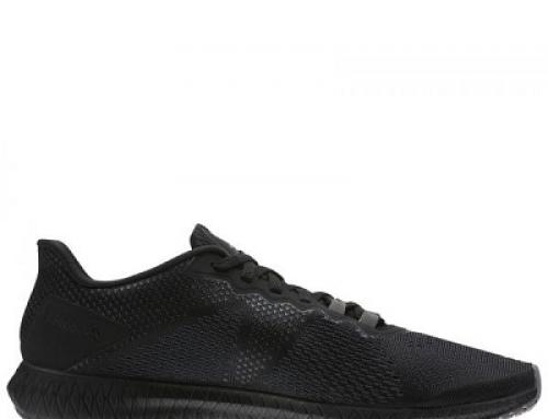 Pantofi sport bărbați Reebok Flexagon CN2586, negri, material textil