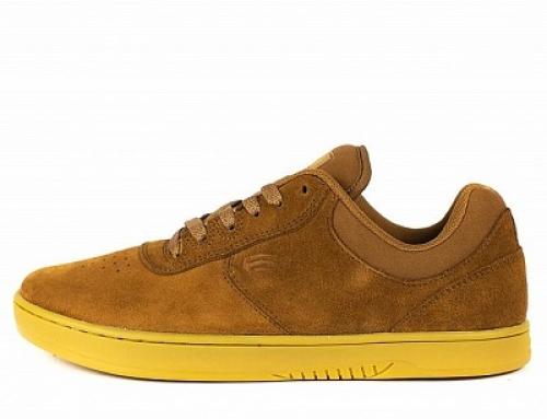 Pantofi sport pentru bărbați Etnies Joslin GHWc9 din piele naturală întoarsă, maro