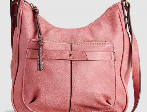 Geantă damă Next TW5YEW roz cu baretă ajustabilă, piele ecologică