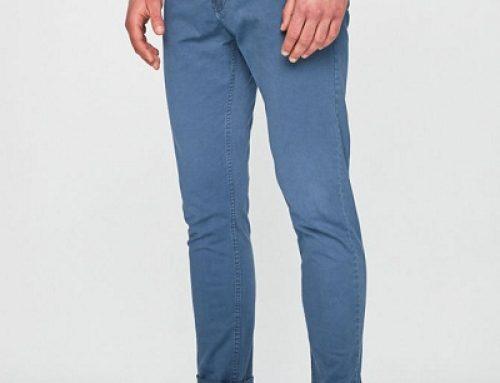 Pantaloni chino pentru bărbați Blend WKJR4W albaștri din bumbac