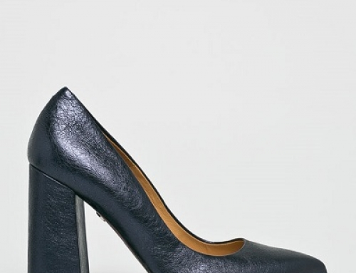 Pantofi damă eleganți Solo Femme GE7WQ cu vârf ascuțit, piele naturală