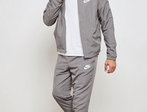 Trening pentru bărbați Nike Sportswear Track Suit 861778-036, gri
