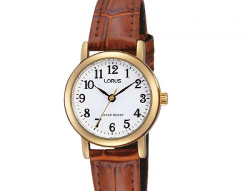 Ceas de damă Lorus Classic RRS18VX9, 3 ATM, Quartz, Piele