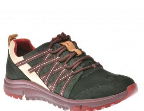 Pantofi sport de damă Clarks DCV4DE din piele naturală, negri