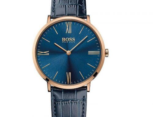 Ceas pentru bărbați Hugo Boss HB1513371, 3 ATM, Quartz, Analog, albastru