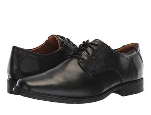 Pantofi eleganți bărbați Clarks TildenPlain II KLIY9 negri din piele naturală