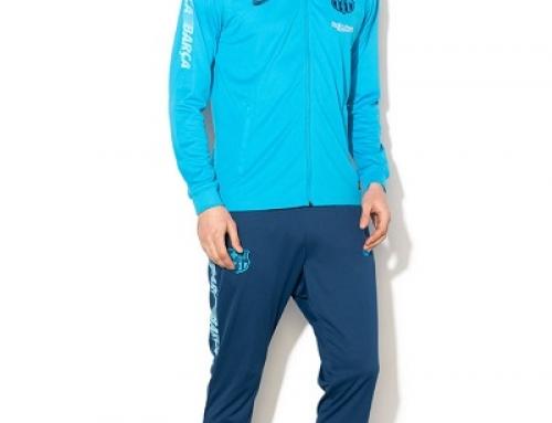 Trening bărbați Nike Dri-fit FCB HREWQ albastru cu 4 buznare și broderie