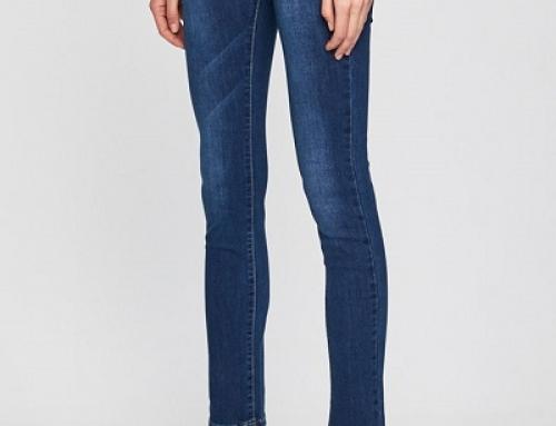 Blugi de damă skinny Answear Haven K85F-GBQY elastici albaștri