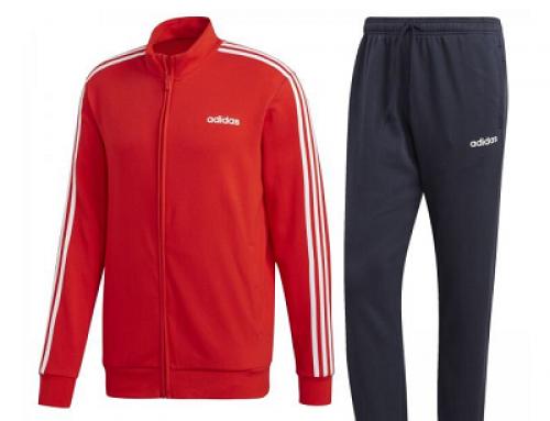 Trening bărbați roșu Adidas Performance MTS CO Relax DHJWQ din bumbac
