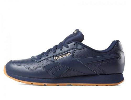 Pantofi sport pentru bărbați Reebok Royal Glide DV3823 din piele naturală, albaștri.