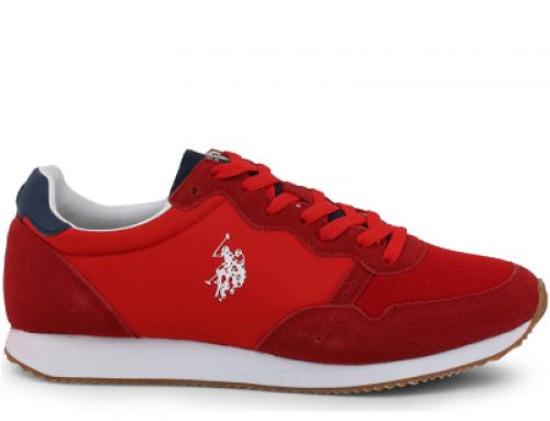 Pantofi sport roșii pentru bărbați U.S. POLO ASSN. Janko KLVWQK
