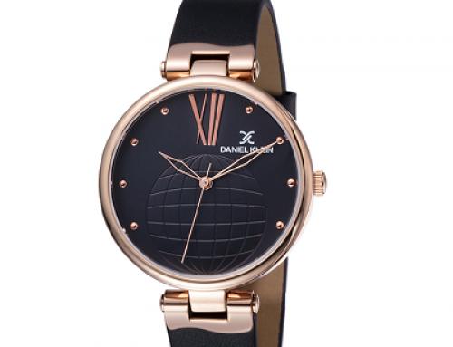 Ceas de damă Daniel Klein Premium DK11963-4, 3 ATM, brățară din piele, Quartz
