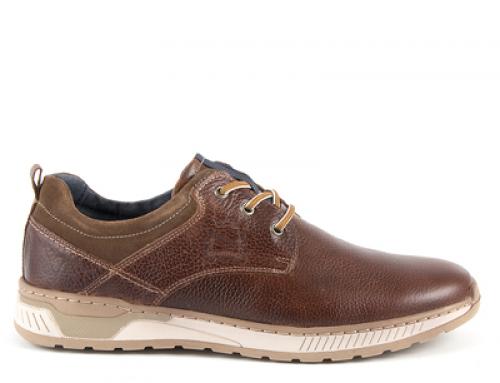 Pantofi casual pentru bărbați Thezeus GHJNVW din piele naturală, maro