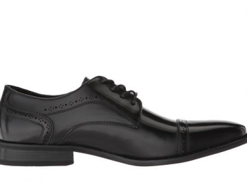 Pantofi eleganți bărbați Kenneth Cole Unlisted RVWQ9 din piele naturală, negri