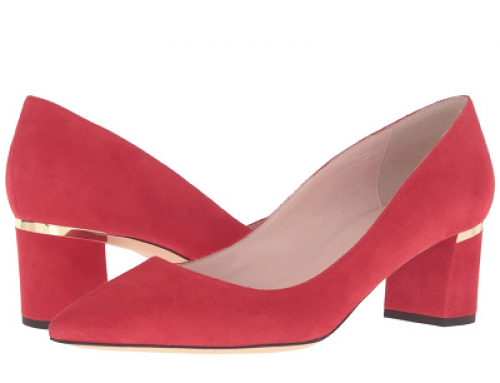 Pantofi eleganți damă Kate Spade Milan GH75-QYVH din piele naturală cu toc gros