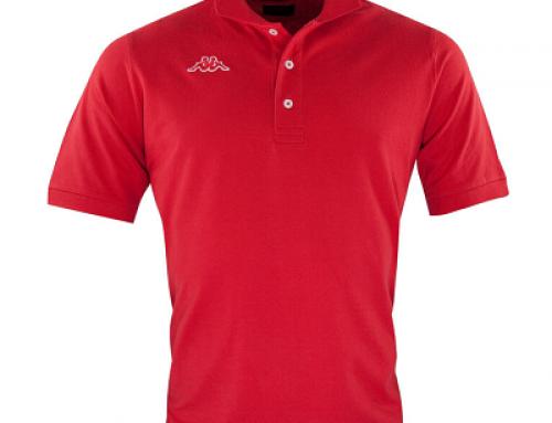 Tricou bărbați polo Kappa Logo Maltax KDELW6 din bumbac roșu sfim fit