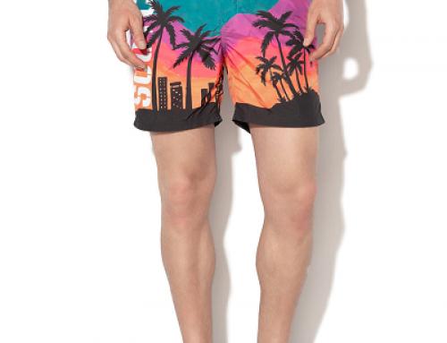 Șort de baie Scotch & Soda Declan NJMW pentru bărbați cu imprimeu tropical