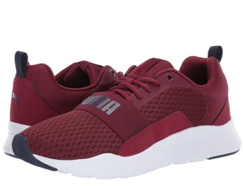 Pantofi sport roșii Puma Wired Hudson pentru bărbați, din material textil