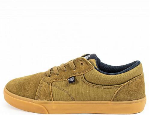 Pantofi sport Element Wasso JNFHQ pentru bărbați din piele întoarsă cu talpă plată