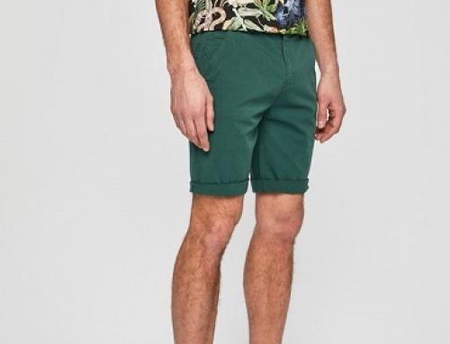 Pantaloni scurți Medicine JLWN Brent casual pentru bărbați, din bumbac, verzi