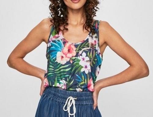 Maiou Answear Jazlynn de damă lejer cu imprimeu floral multicolor