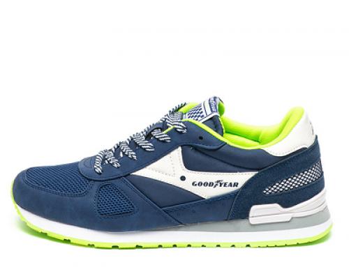 Pantofi sport Goodyear BHW Hector pentru bărbați albaștri cu talpă plată