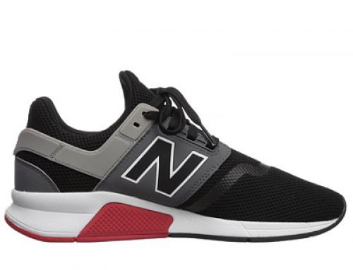 Pantofi sport bărbați New Balance 247v2 Owen negri cu plasă