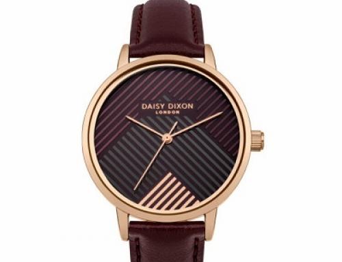 Ceas de damă Daisy Dixon DD056VRG, 3 ATM, Quartz, Analog, brățară din piele