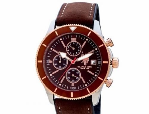 Ceas pentru bărbați U.S. Polo ASSN. Argo USP4731BR, 5 ATM, Quartz, Analog