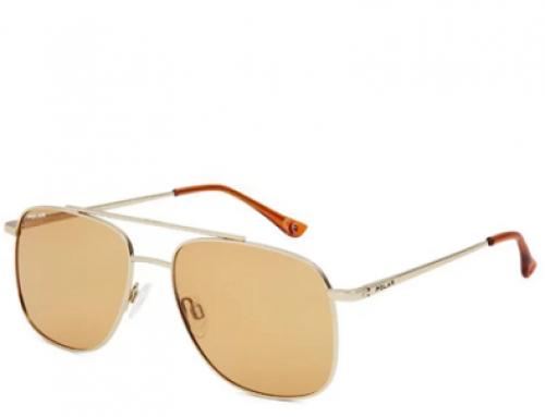 Ochelari de soare Polar Percy|02/O pentru bărbați, Aviator, lentile portocalii