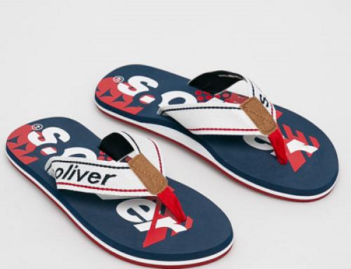 Papuci s.Oliver HNJM Travis de plajă pentru bărbați cu talpă plată