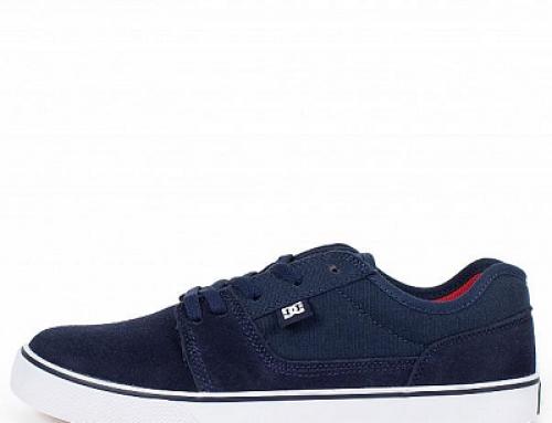 Pantofi sport bărbați DC JG58PQ Tonik din piele naturală întoarsă, Indigo