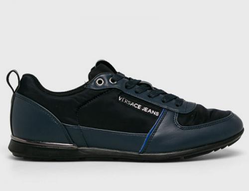 Pantofi sport Versace Jeans RND-BQ pentru bărbați, bleumarin, cu talpă plată