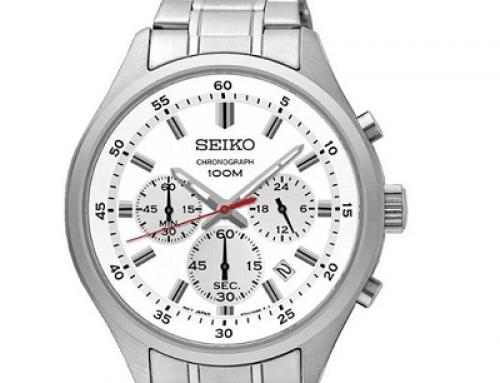 Ceas bărbătesc Seiko SPORTS SKS583P1 Cronograf, 10 ATM, Analog, Quartz
