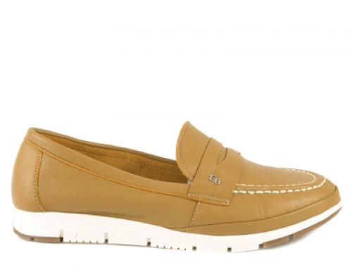 Pantofi Enzo Bertini J-7KQ Gail casual de damă cu talpă plată, din piele naturală