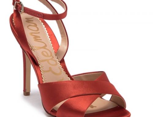 Sandale elegante Sam Edelman W-J44LQ de damă cu toc înalt, din piele naturală