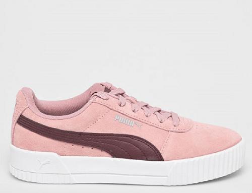 Pantofi sport damă PUMA M-Y52Q Joslyn din piele naturală, roz